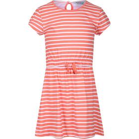 Regatta Catriona Dress Kids, rojo/blanco